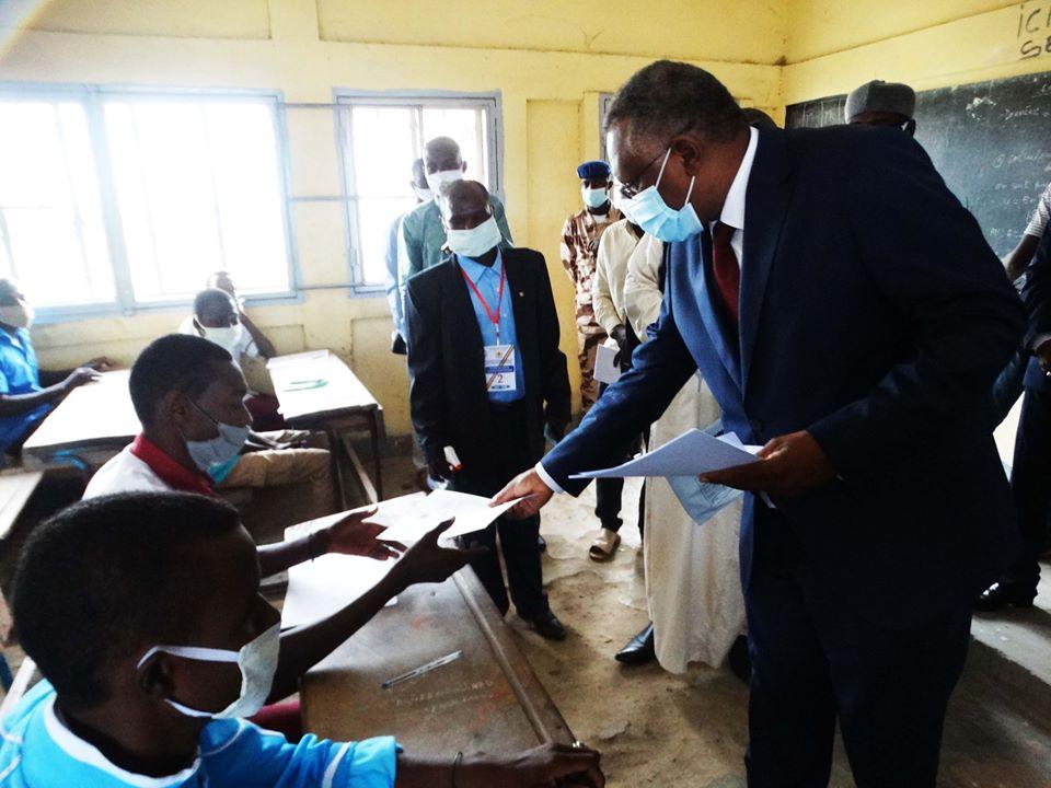 Tchad : 35.235 élèves composent le Brevet de l'enseignement fondamental à N'Djamena. © Min. Éducation nationale