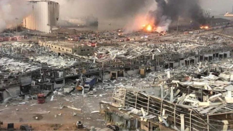 Liban : au moins 73 morts et plus de 3700 blessés suite à la double explosion. ©DR