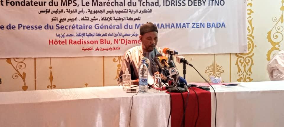 """Tchad : Zen Bada appelle à la mobilisation pour la """"victoire certaine"""" à la présidentielle"""