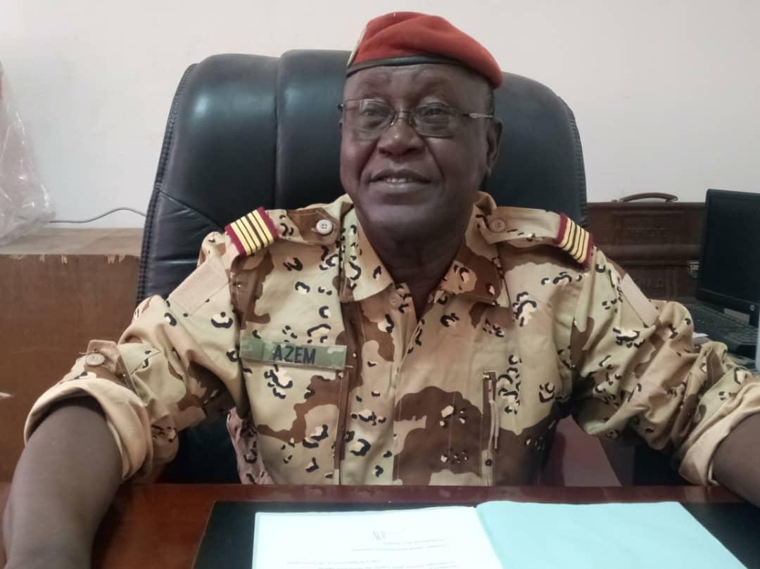 Tchad : le colonel Azem Bermendao, porte-parole de l'armée, distingué par décret. © Droits réservés