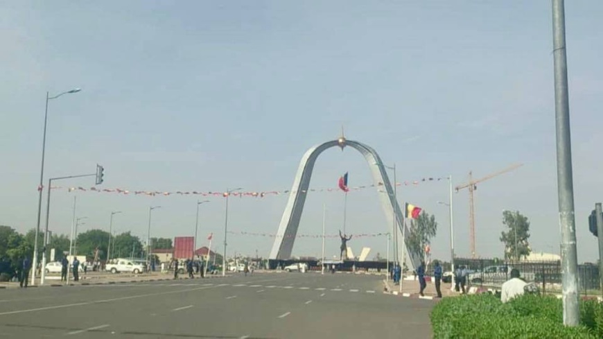 La Place de la nation à N'Djamena, au Tchad. © Alwihda Info