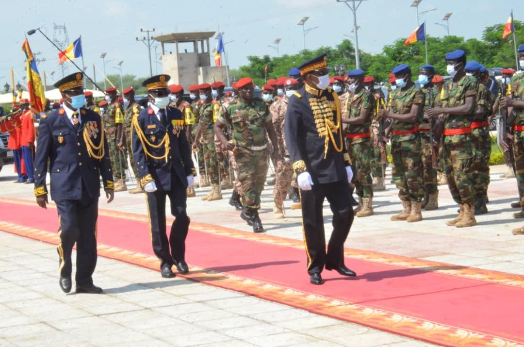 Tchad : les temps forts de la cérémonie d'élévation de Maréchal en images