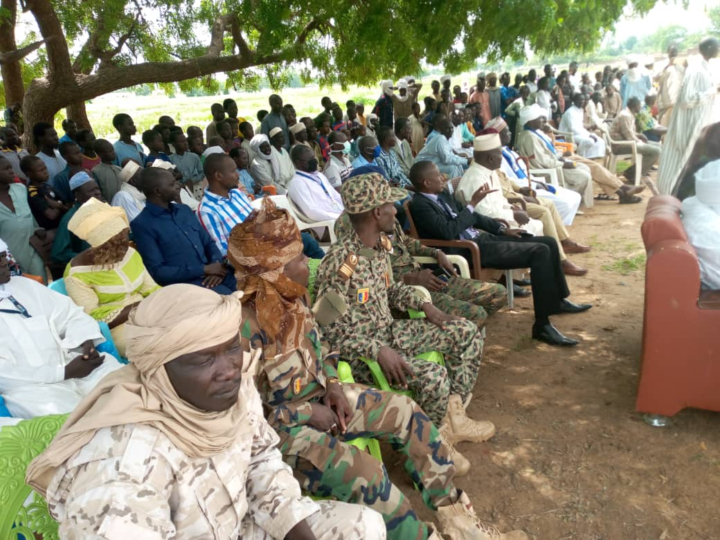 Tchad : à Koukou Angarana, le préfet réitère un message de paix à l'occasion de la fête du 11 août. © Mahamat Issa Gadaya/Alwihda Info