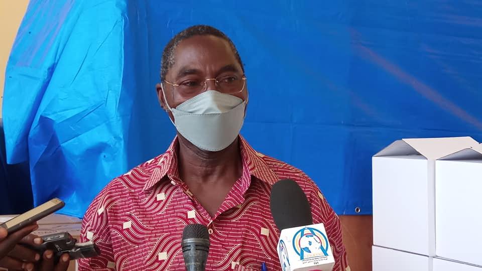 Le coordonnateur adjoint de riposte sanitaire Dr. Allarangar Yakouidé. ©Min.Santé
