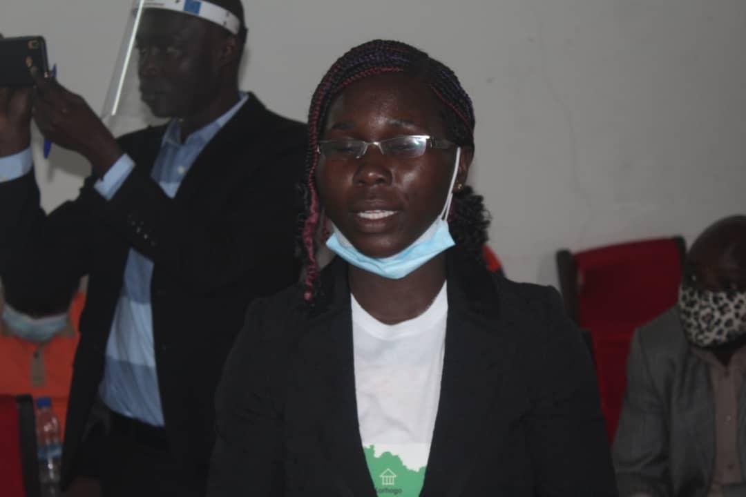 Kouao Isabelle, coordinatrice du projet