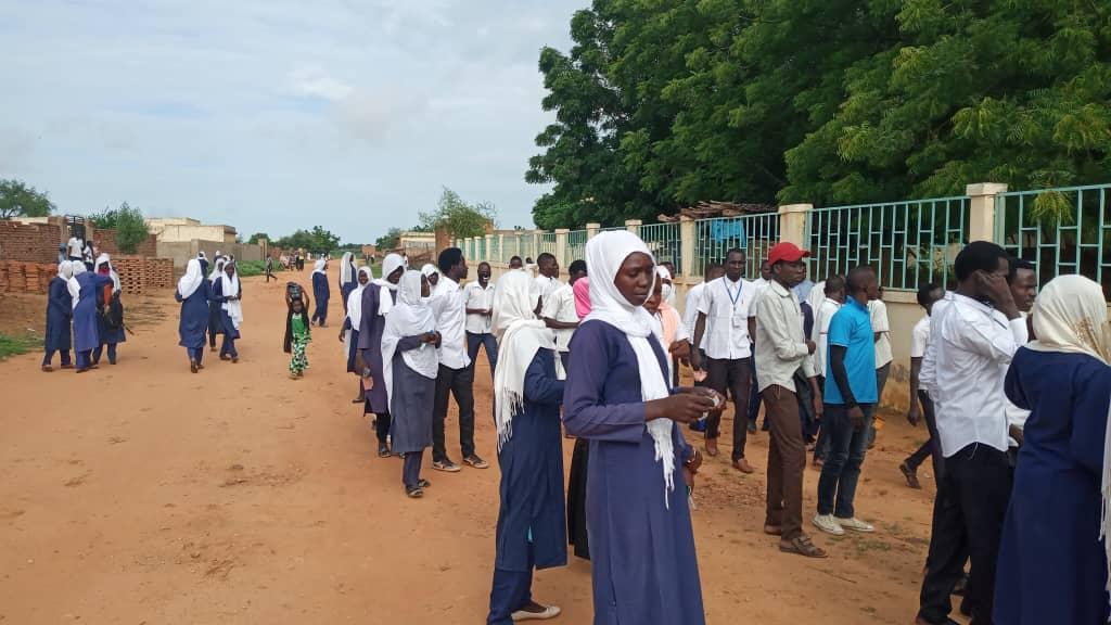 Tchad : au Sila, les candidats à l'assaut des épreuves du baccalauréat. © Mahamat Issa Gadaya/Alwihda Info
