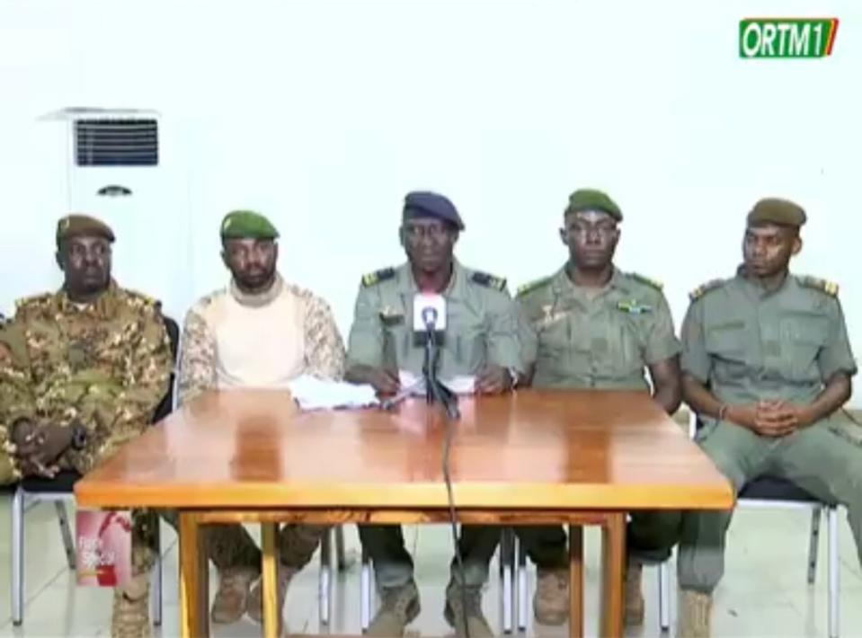 """Mali : """"nous ne tenons pas au pouvoir mais à la stabilité du pays"""", assurent les mutins"""