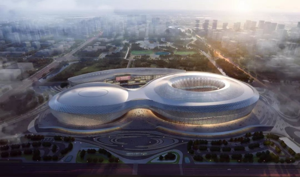 Photo shows a venue for the basketball games of Chengdu 2021 Summer World University Games in the Phoenix Mountain Sports Park, Jinniu District, Chengdu, southwest China's Sichuan province. (Photo from the official website of Chengdu 2021 Summer World University Games)