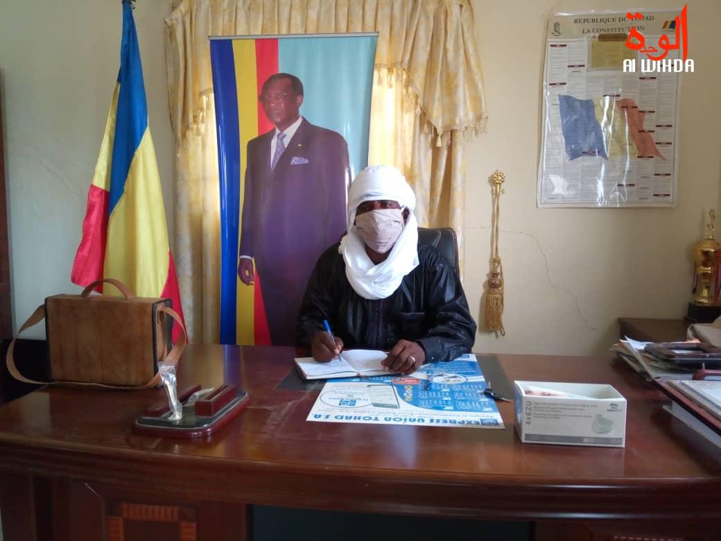 Issakha Ahmat Ardja, le gouverneur de la province de Wadi Fira. © Abba Issa/Alwihda Info