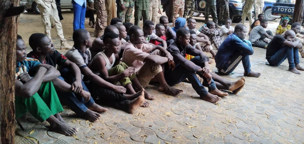 Tchad : 26 présumés malfrats dont 16 braqueurs entre les mains de la gendarmerie
