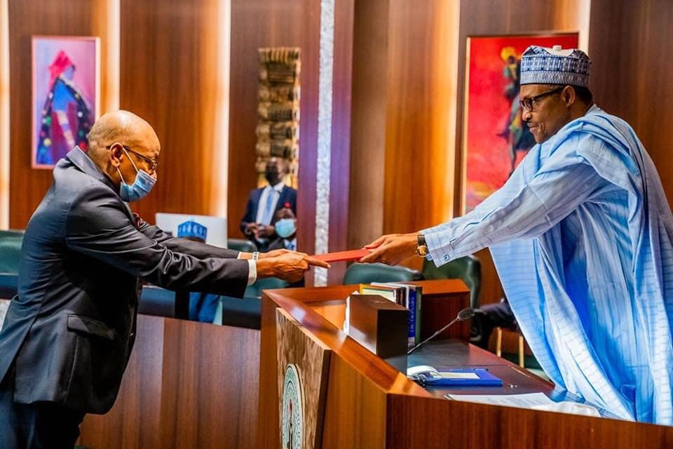 Nigeria : tapis rouge pour le nouvel ambassadeur du Tchad, Abakar Saleh Chaïmi
