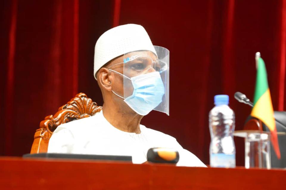 Mali : l'ex-président IBK libéré par la junte