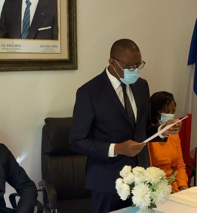 Cameroun/Diplomatie : L'ambassadeur André-Magnus Ekoumou était à Marseille