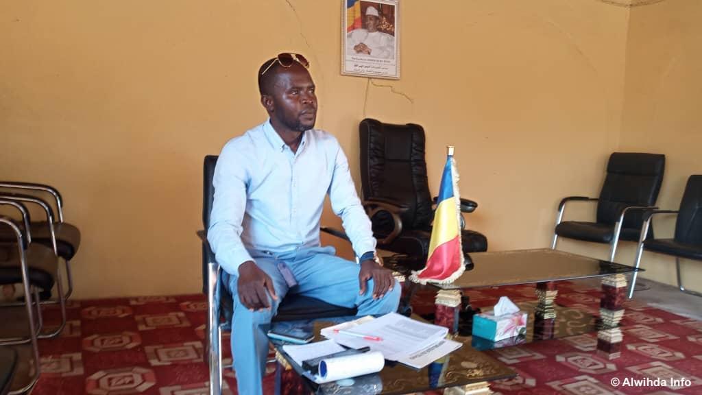 Le chef d'antenne de l'Office national de la jeunesse et des sports (ONAJES) de la province de Sila, Hilaire Memndigngar © Mahamat Issa Gadaya/Alwihda Info
