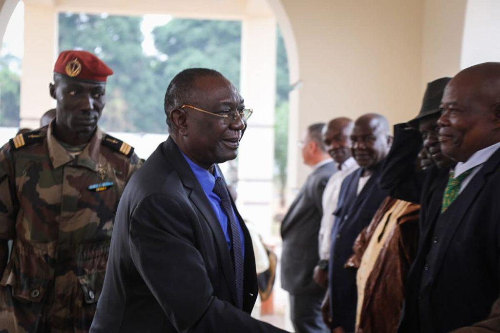L'ancien président de la Centrafrique, Michel Djotodia. © DR