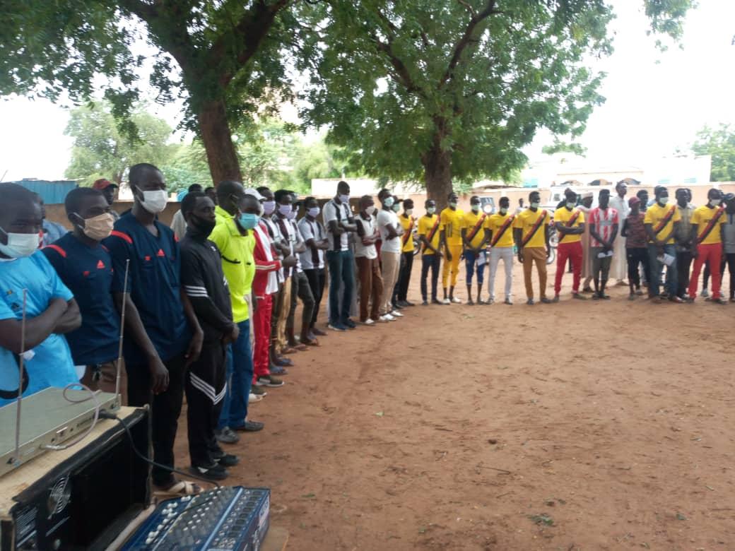 Tchad : la FTFA remet une subvention à la Ligue provinciale de Sila. ©Mahamat Issa Gadaya/Alwihda Info