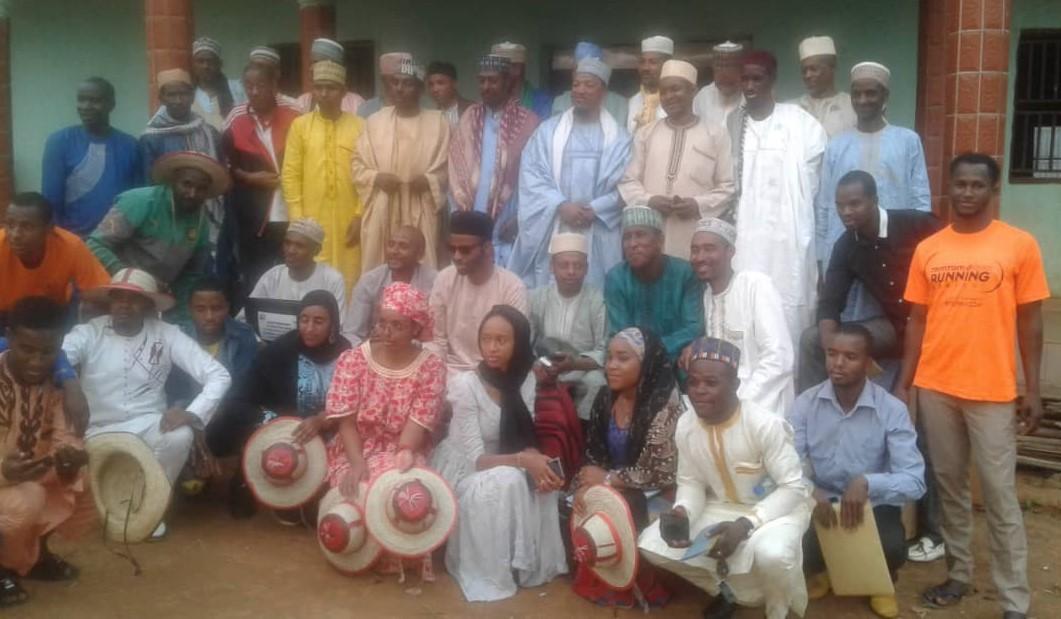 Un groupe de Peuhls-Mbororo du département du Noun.