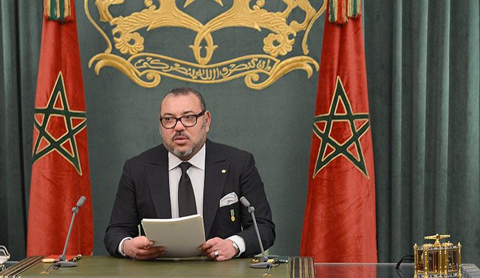 Le Roi du Maroc entend stimuler l'activité économique et renforcer la protection sociale. © DR