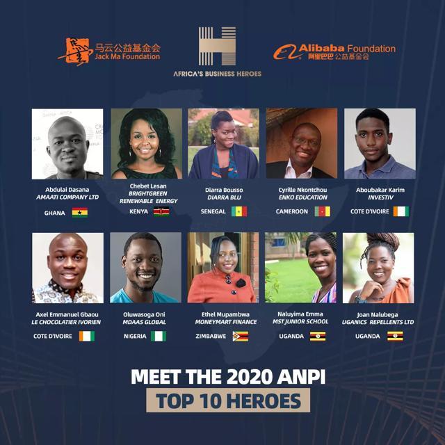Les 10 finalistes de « Africa's Business Heroes 2020 » sont enfin révélés