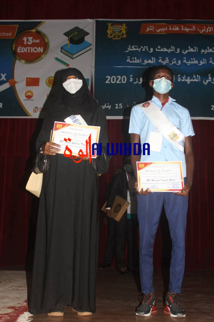 Tchad : le meilleur des meilleurs bacheliers est du lycée Ibnou Cina de N'Djamena