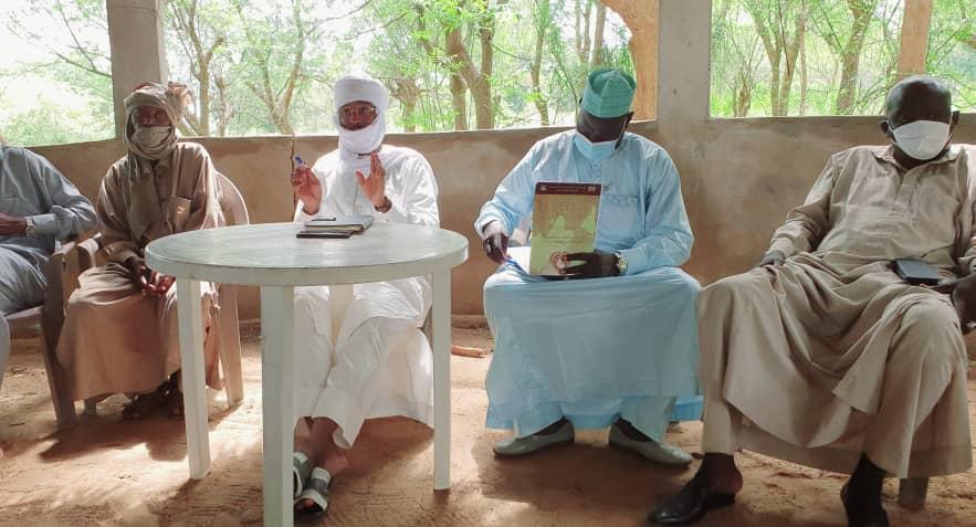 Tchad : 57 tonnes de céréales pour la population vulnérable du Mayo Lemié. © Alwihda Info