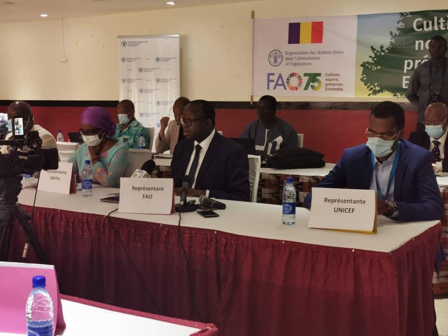 Tchad : la FAO commémore la Journée mondiale de l'alimentation et ses 75 ans. © Aristide Djimalde/Alwihda Info
