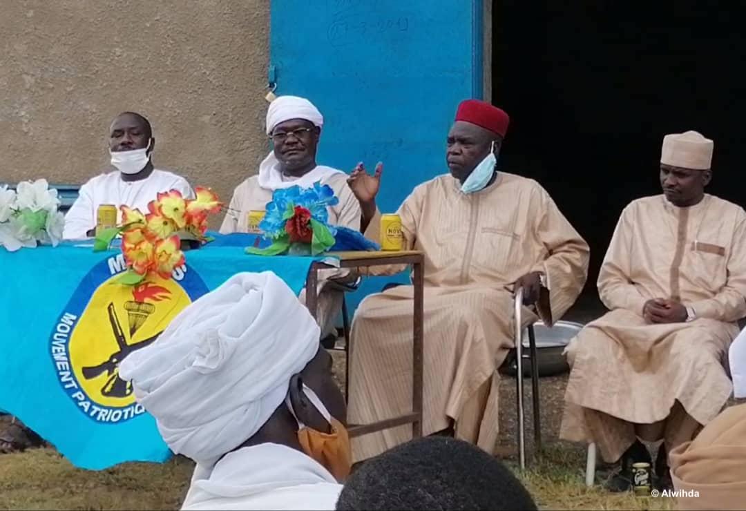 Tchad : au Guéra, le MPS encourage les jeunes au recensement électoral. © Béchir Badjoury/Alwihda Info
