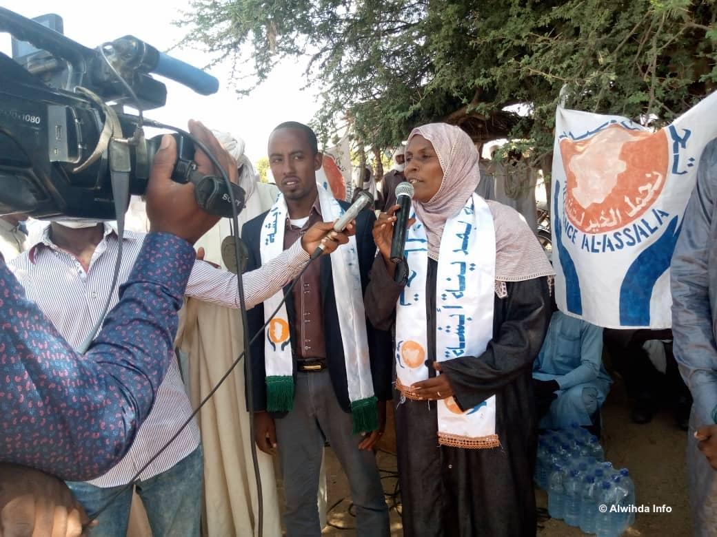 Tchad : les commerçants d'Abéché sensibilisés sur l'enrôlement électoral. ©Hamid Mahamat Issa/Alwihda Info