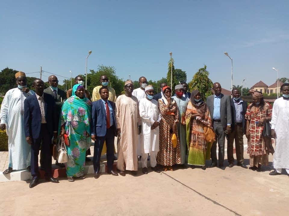 Tchad : la nouvelle équipe de l'ONAMA prend ses fonctions. © Min. Communication