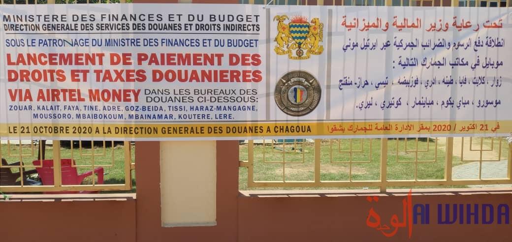 Tchad : paiement des droits et taxes douanières par mobile, comment ça fonctionne ?
