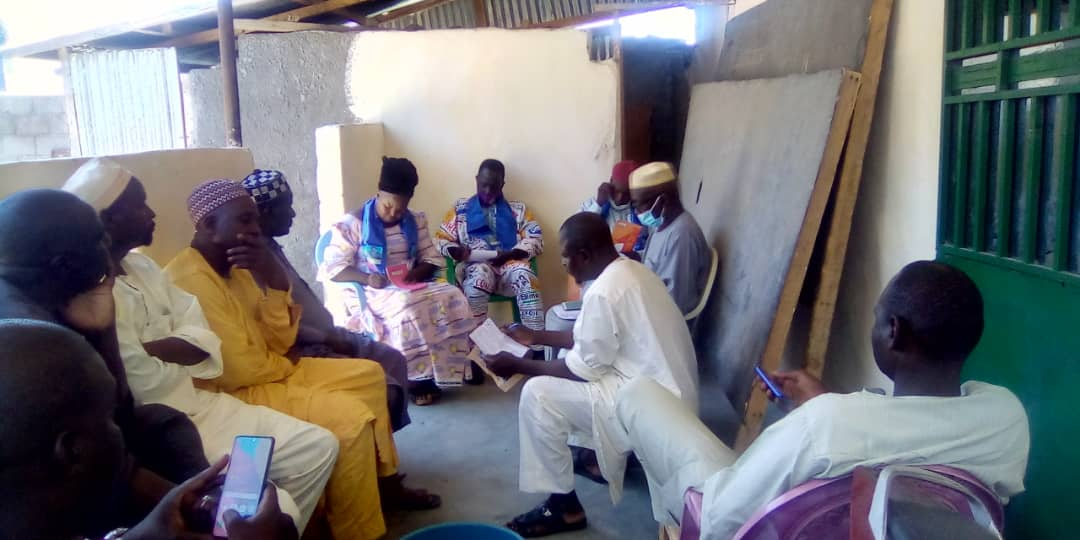 Tchad : Le MPS s'investit au Mayo Kebbi Ouest pour la réussite de la révision du fichier électoral. © Foka Mapagne/Alwihda Info