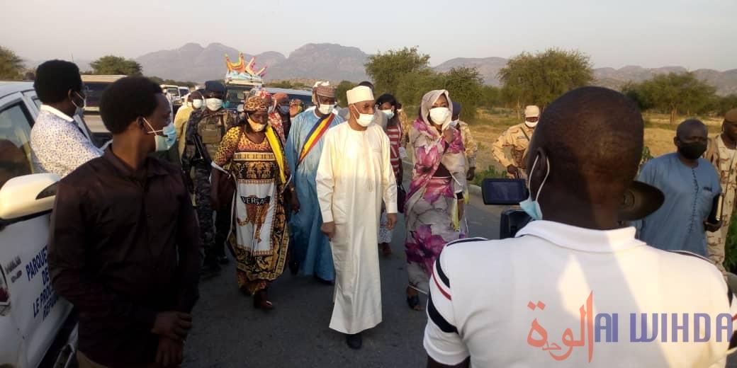 Tchad : la ministre de la Femme au Guéra, à la tête d'une délégation