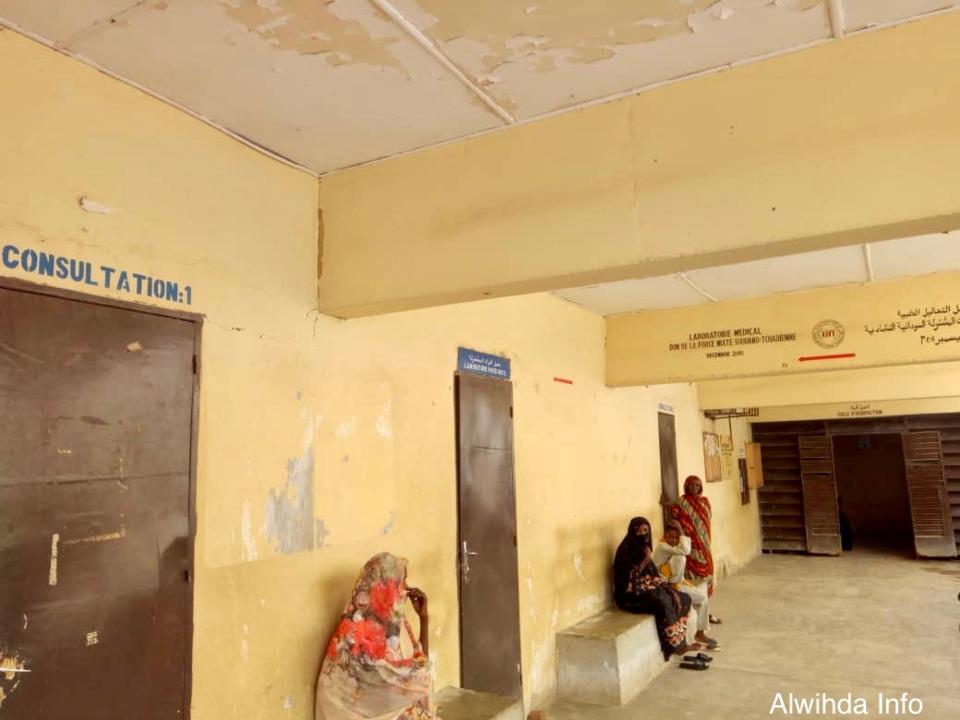 Des patients à l'hôpital provincial d'Abéché. ©Abba Issa/Alwihda Info