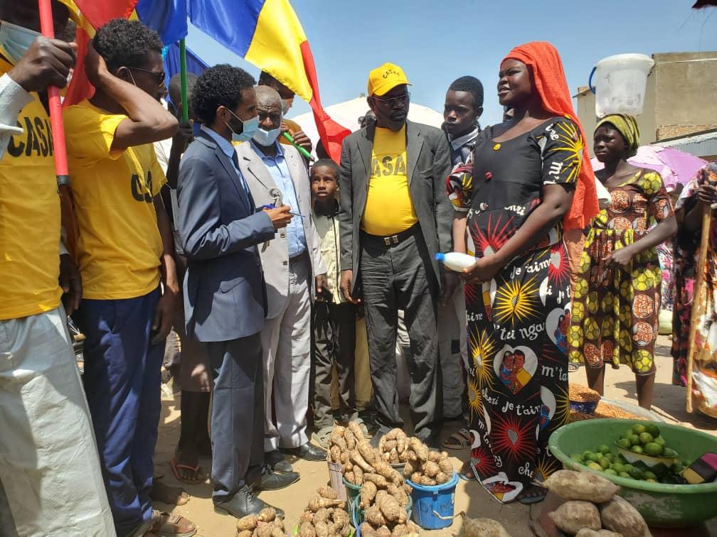 Tchad : la CASAC recense les doléances des citoyens à Koundoul