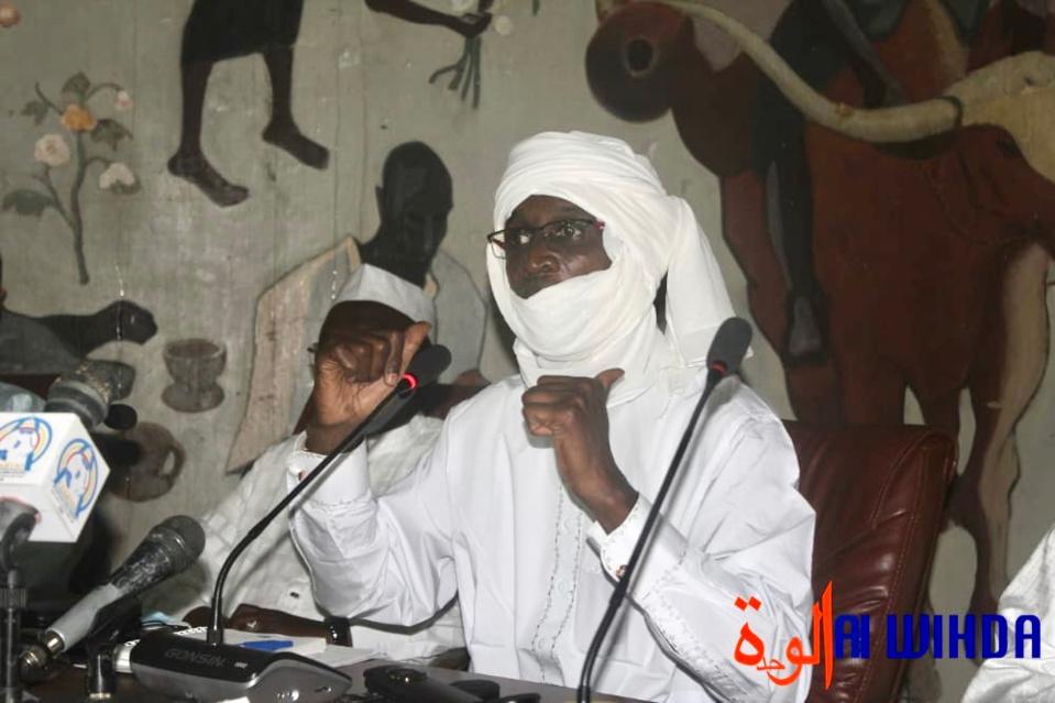 Le général Idriss Dokony Adiker. © Ben Kadabio/Alwihda Info