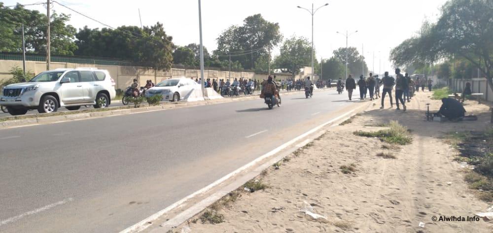 Tchad : grève d'enseignants et colère des élèves à N'Djamena. © Ben Kadabio/Alwihda Info