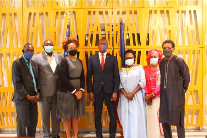 Tchad : une délégation des Transformateurs échange avec l'ambassade des USA. © Transformateurs