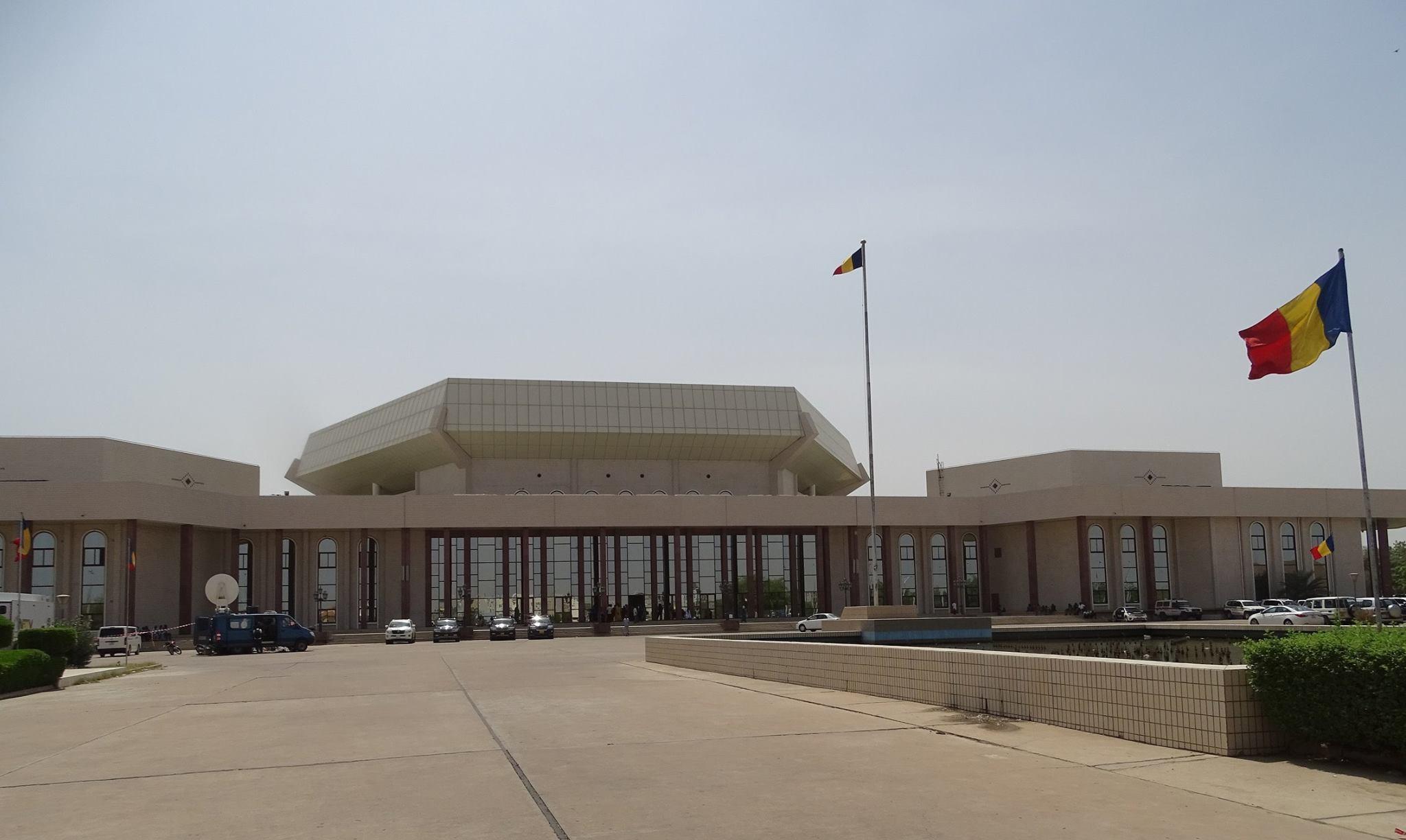 Le Palais du 15 janvier à N'Djamena.