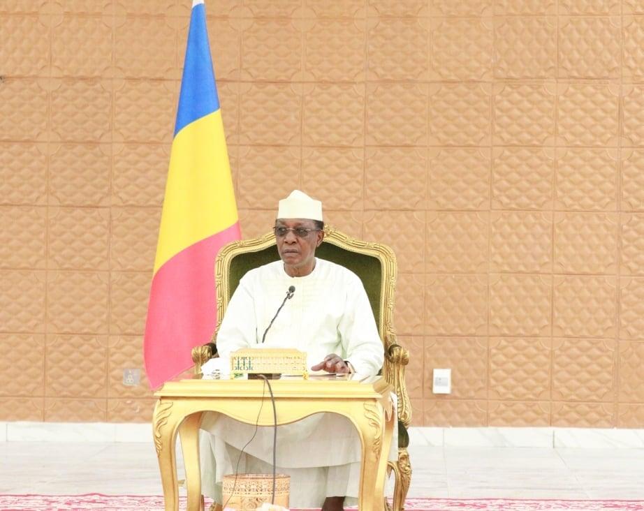 """Tchad : Idriss Déby assure qu'il n'influence rien pour le Forum et """"ne joue pas au clown"""". © PR"""