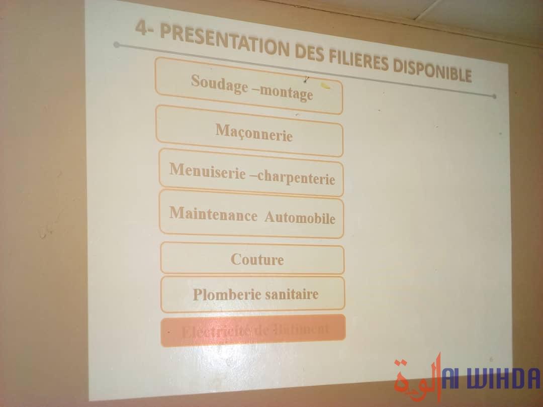 Tchad : un centre de formation professionnelle sera construit à Massakory