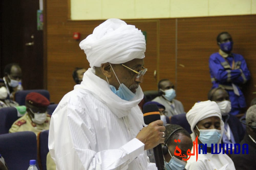 L'ex-opposant Abdelwahid Aboud Mackaye. © Ben Kadabio/Alwihda Info