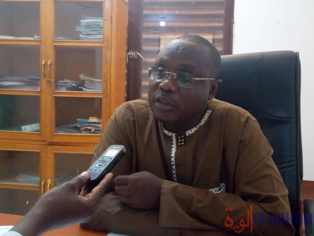 Le délégué sanitaire provincial du Ouaddai, Dr. Abdelmahamoud chêne. © Abba Issa/Alwihda Info