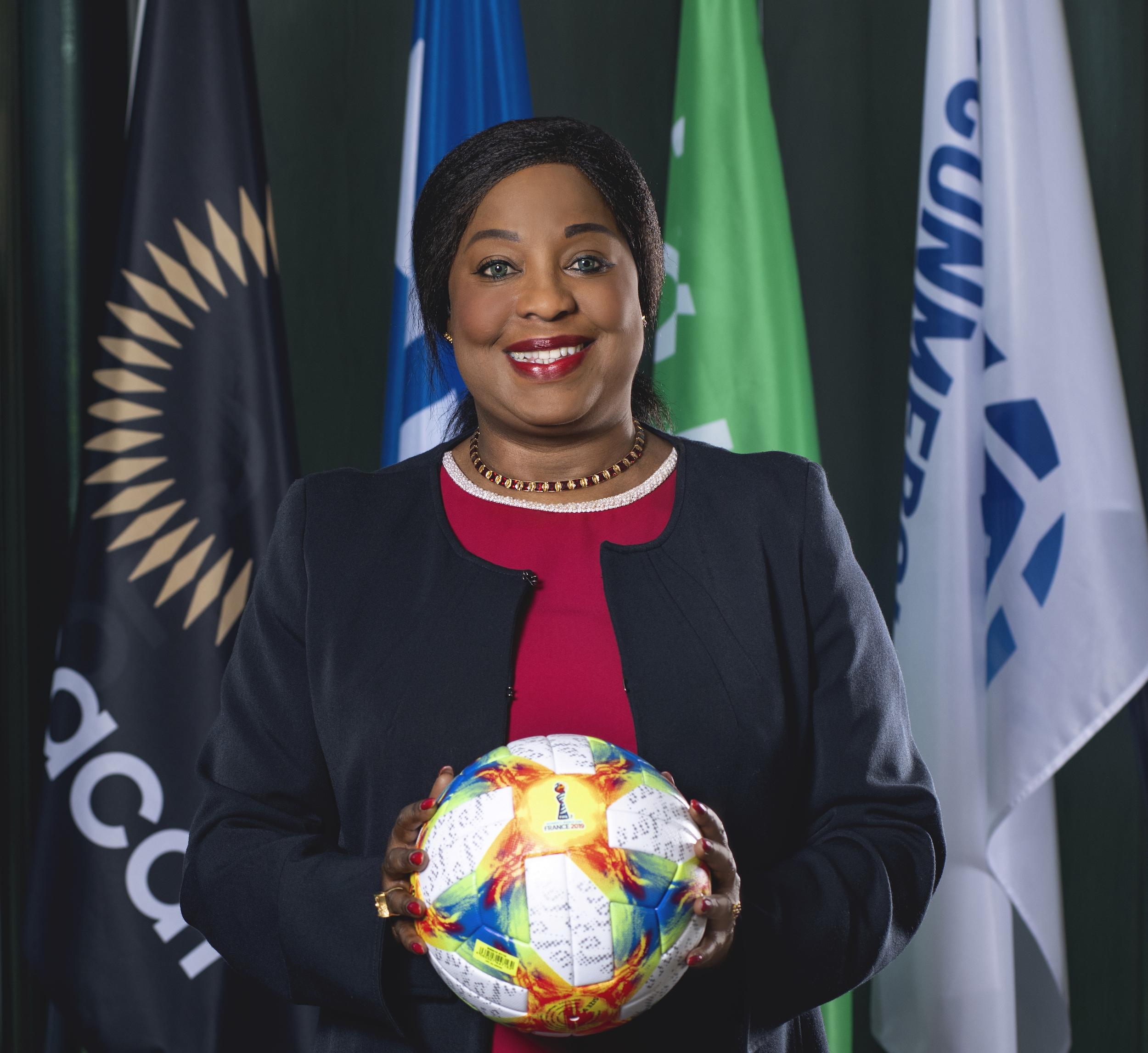 Hall of Fame : Fatma Samoura, secrétaire générale de la FIFA, honorée pour ses actions