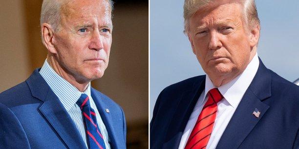Joe Biden et Donald Trump. © DR