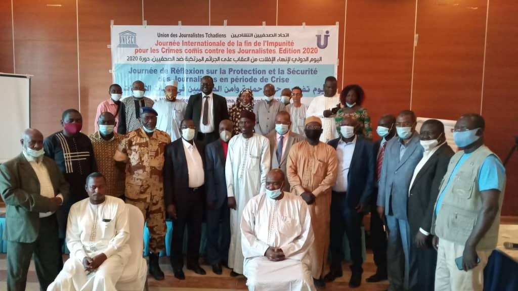 Tchad : la protection et la sécurité des journalistes en période de crise, un défi pour l'UJT. © Ali Moussa/Alwihda Info