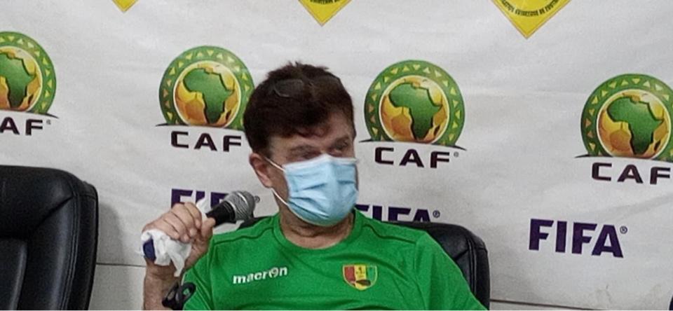 """SAO du Tchad : """"Malgré que l'adversaire ait 0 point, il faut reconnaitre qu'il a des qualités"""" (coach Guinée)"""