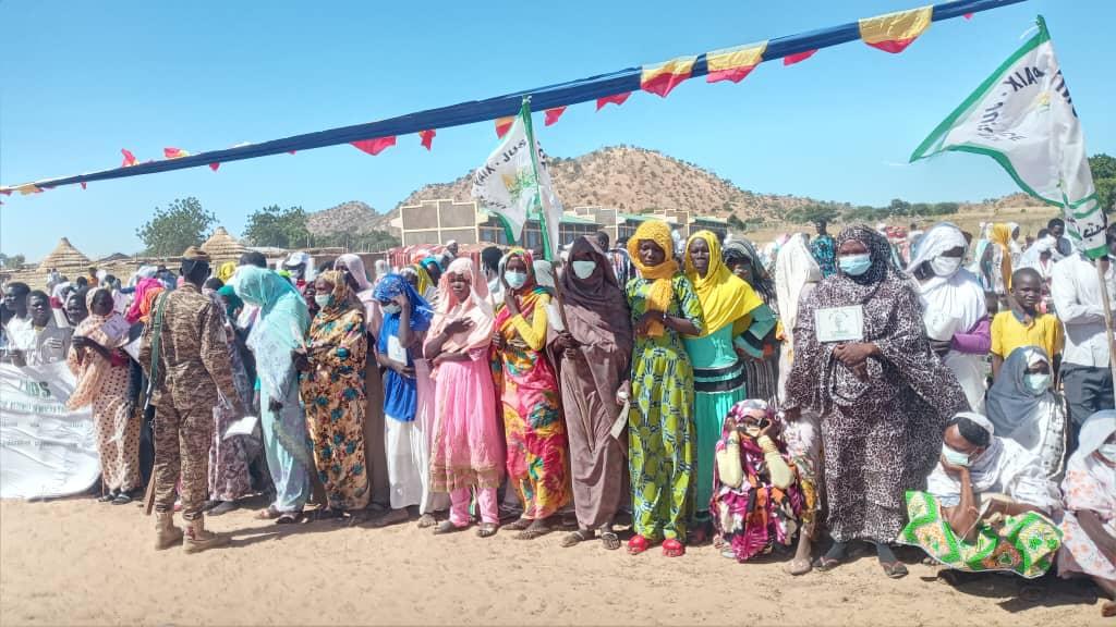 Des femmes rurales au Tchad. Illustration © Mahamat Issa Gadaya