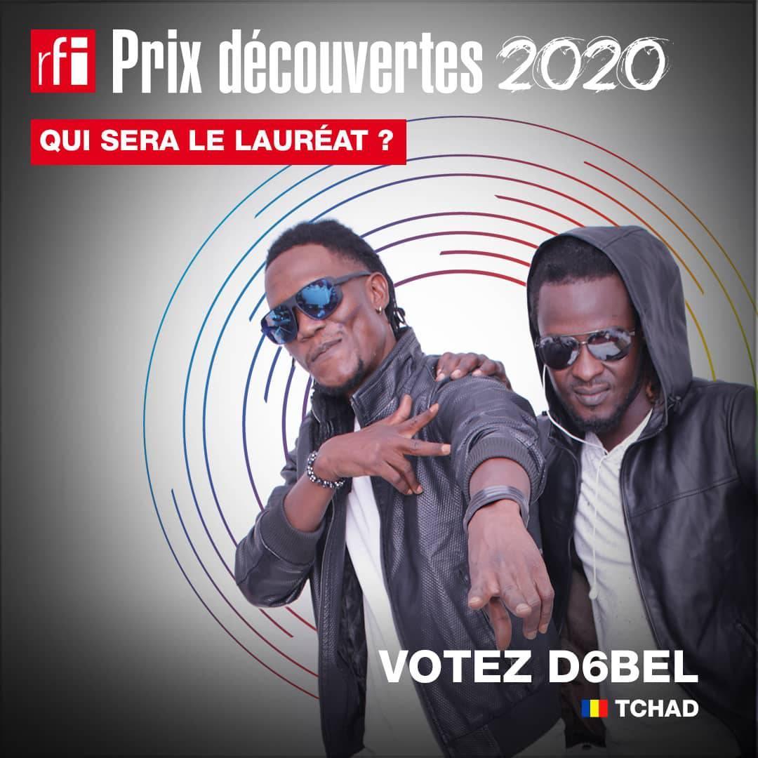 Le groupe tchadien D6BEL en finale du Prix Découvertes RFI
