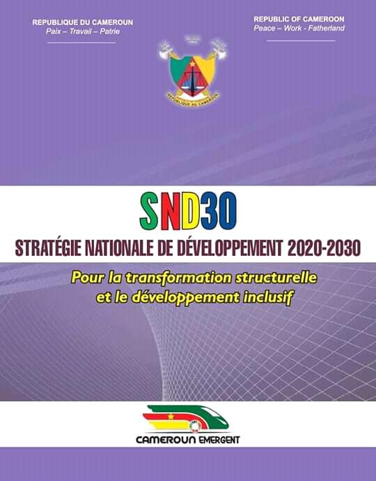 Cameroun : la Stratégie Nationale de Développement adoptée
