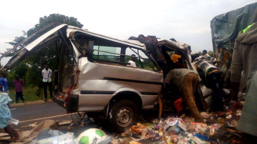 DR . Un accident mortel sur une route togolaise.